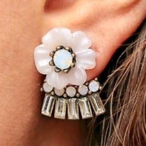 C+I Bella Fiore Convertible Jacket Earrings